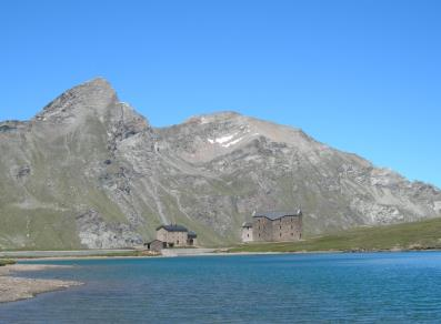 Refuge and Shrine at Lake Miserin - Champorcher